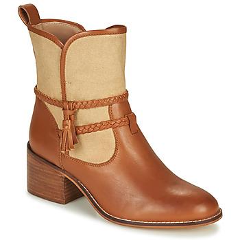 Chaussures Femme Bottines André BROOK Camel