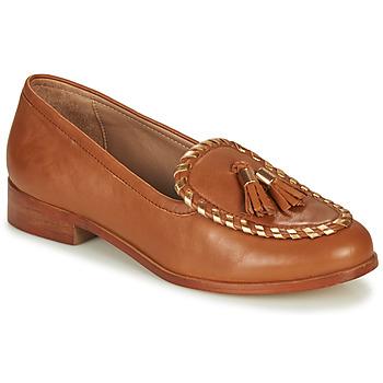 Chaussures Femme Mocassins André BRETTA Camel