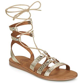 Chaussures Femme Sandales et Nu-pieds André BEA Doré