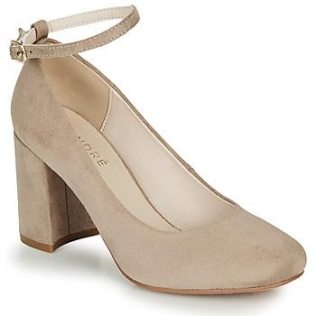 Chaussures Femme Escarpins André LAURIA Beige