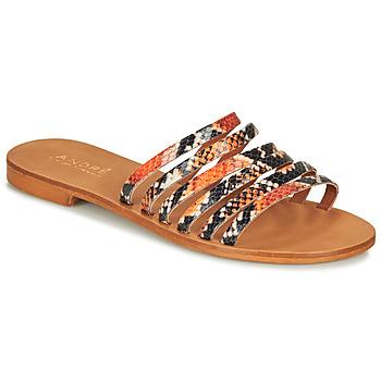 Chaussures Femme Sandales et Nu-pieds André BRAIDINE Orange