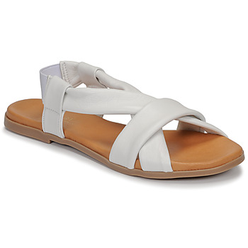 Chaussures Femme Sandales et Nu-pieds André BABACO Blanc