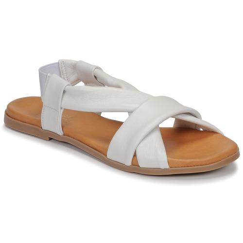 Chaussures Femme Sandales et Nu-pieds André BABACO Blanc