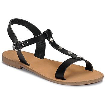 Chaussures Femme Sandales et Nu-pieds André DOMINOU Noir