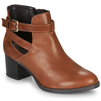 Chaussures Femme Bottines André BETIANA Camel
