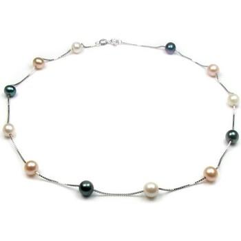 Montres & Bijoux Femme Colliers / Sautoirs Blue Pearls BPS 0303 Y Multicolore