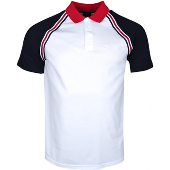 Polo Armani Polo Exchange blanc noir et rouge régular pour homme