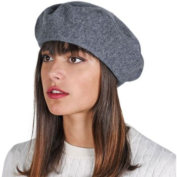 Accessoires textile Femme Bonnets Sacaly Béret Yva Gris