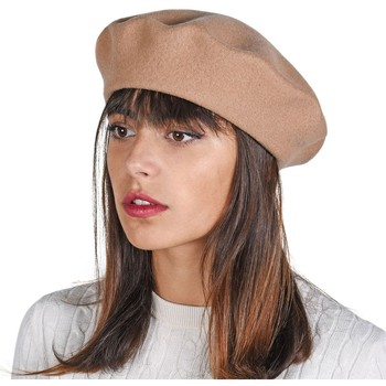 Accessoires textile Femme Bonnets Sacaly Béret Yva Beige