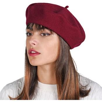 Accessoires textile Femme Bonnets Sacaly Béret Yva Bordeaux