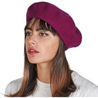 Accessoires textile Femme Bonnets Sacaly Béret Yva Violet