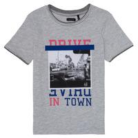 Vêtements Fille T-shirts manches longues Ikks ILIA Gris