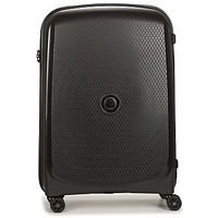 Sacs Valises Rigides Delsey 72 CM 4 DOUBLE WHEELS TROLLEY CASE Noir
