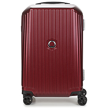 Sacs Valises Rigides Delsey SECURITIME FRAME 55 CM DOUBLE WHEELS CABIN Rouge
