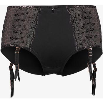 Sous-vêtements Femme Culottes gainantes Lascana Shorty porte-jarretelles taille haute Livia Leopard