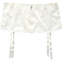 Sous-vêtements Femme Porte-jarretelles Lascana Serre-Taille Paola de Blanc