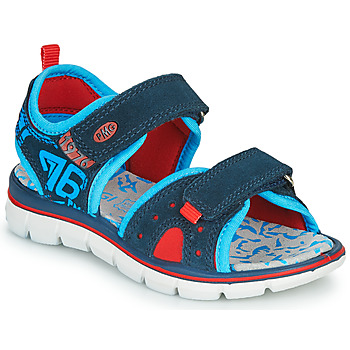 Chaussures Garçon Sandales et Nu-pieds Primigi 5392822 Marine / Bleu / Rouge