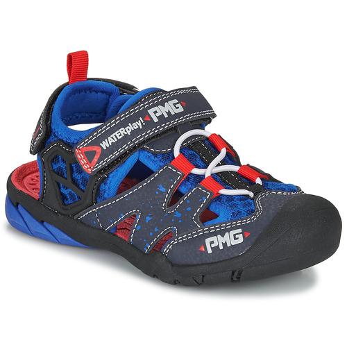 Chaussures Garçon Sandales sport Primigi 5460111 Bleu / Rouge