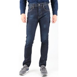 Vêtements Homme Jeans slim Guess Edison M14R95D0HN1 WOOB granatowy