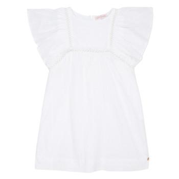 Vêtements Fille Robes courtes Lili Gaufrette MELINA Blanc