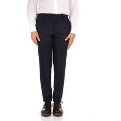 Vêtements Homme Pantalons de costume Incotex 1AT091 1721T bleu