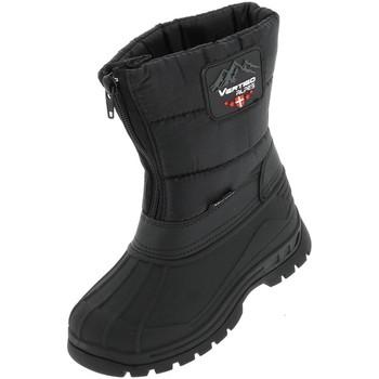 Chaussures Fille Bottes de neige Alpes Vertigo Oxford nr apres ski jr Noir