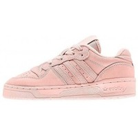 Chaussures Fille Baskets basses adidas Originals Zapatillas Adidas Rivalry Low C rose