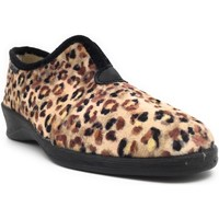Chaussures Femme Chaussons Fargeot LEOPARD Beige