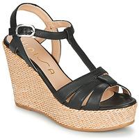 Chaussures Femme Sandales et Nu-pieds Unisa MACA Noir