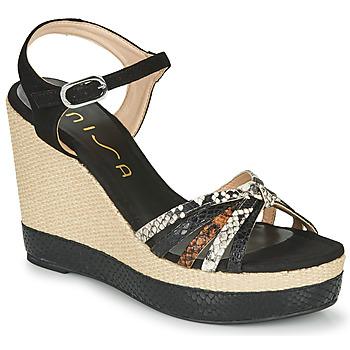 Chaussures Femme Le chino, un must have Unisa MIRELLA Noir