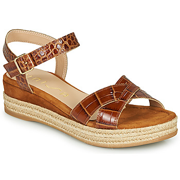 Chaussures Femme Sandales et Nu-pieds Unisa GRANADA Camel