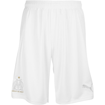 Vêtements Homme Shorts / Bermudas Puma Short OM collector 2019/2020 blanc/argent