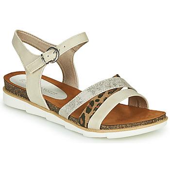 Chaussures Femme Sandales et Nu-pieds Marco Tozzi  Beige
