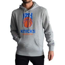 Vêtements Homme Sweats Champion NEW YORK KNICKS FELPA CON CAPPUCCIO GRIGIA Gris