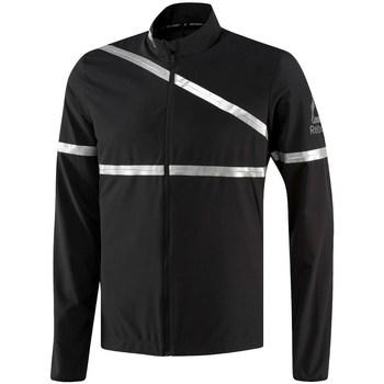 Vêtements Homme Vestes Reebok Sport One Series Running Hero Noir, Argent