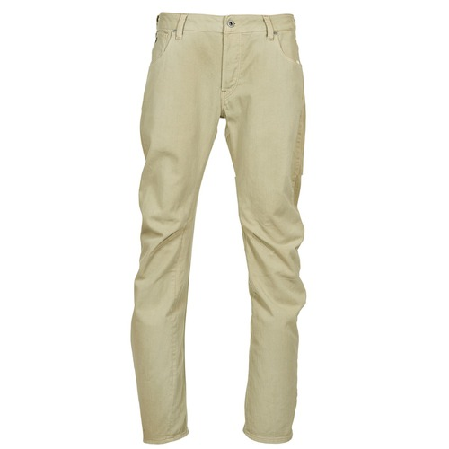 Pantalons G-Star Raw ARC 3D SLIM Beige 350x350