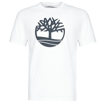 Vêtements Homme T-shirts manches courtes Timberland SS KENNEBEC RIVER BRAND TREE TEE Blanc