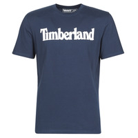 Vêtements Homme T-shirts manches courtes Timberland SS KENNEBEC RIVER BRAND LINEAR TEE Marine