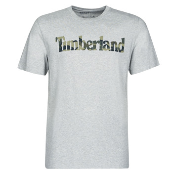 Vêtements Homme T-shirts manches courtes Timberland SS KENNEBEC RIVER CAMO LINEAR TEE Gris