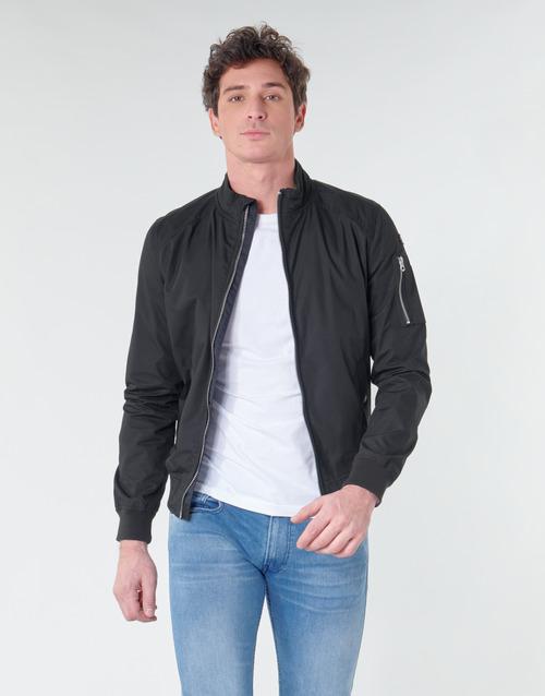 Vêtements Homme Blousons Schott KENNY Noir