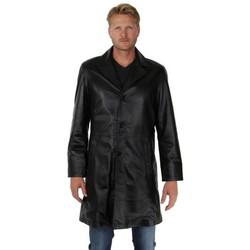 Vêtements Homme Vestes Pallas Cuir Blouson  Sélection en cuir ref_30807 Noir Noir