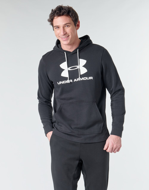 Vêtements Homme Sweats Under Armour SPORTSTYLE TERRY LOGO HOODIE Noir