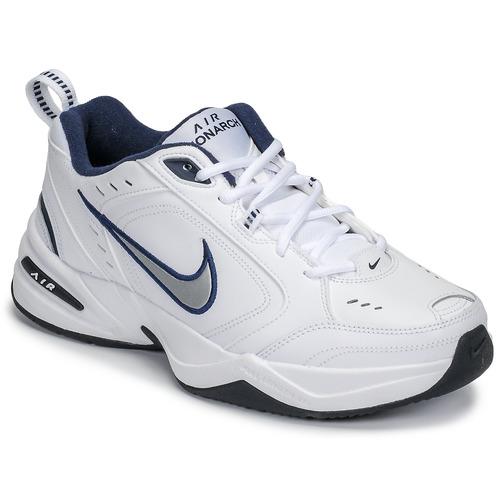 Chaussures Homme Baskets basses Nike AIR MONARCH IV Blanc / Gris