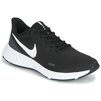 Chaussures Femme Running / trail Nike REVOLUTION 5 Noir / Blanc
