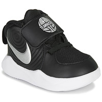 Chaussures Garçon Multisport Nike TEAM HUSTLE D 9 TD Noir / Argenté