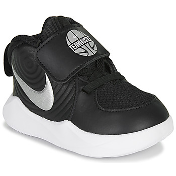 Chaussures Garçon Basketball Nike TEAM HUSTLE D 9 TD Noir / Argenté