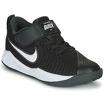 Chaussures Enfant Multisport Nike TEAM HUSTLE QUICK 2 PS Noir / Blanc