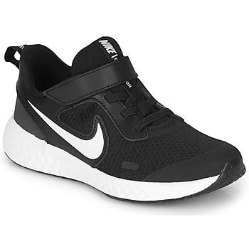 Chaussures Enfant Multisport Nike REVOLUTION 5 PS Noir / Blanc