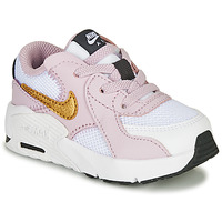 Chaussures Fille Baskets basses Nike AIR MAX EXCEE TD Blanc / Rose