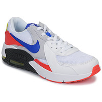 Chaussures Enfant Baskets basses Nike AIR MAX EXCEE GS Blanc / Bleu / Rouge